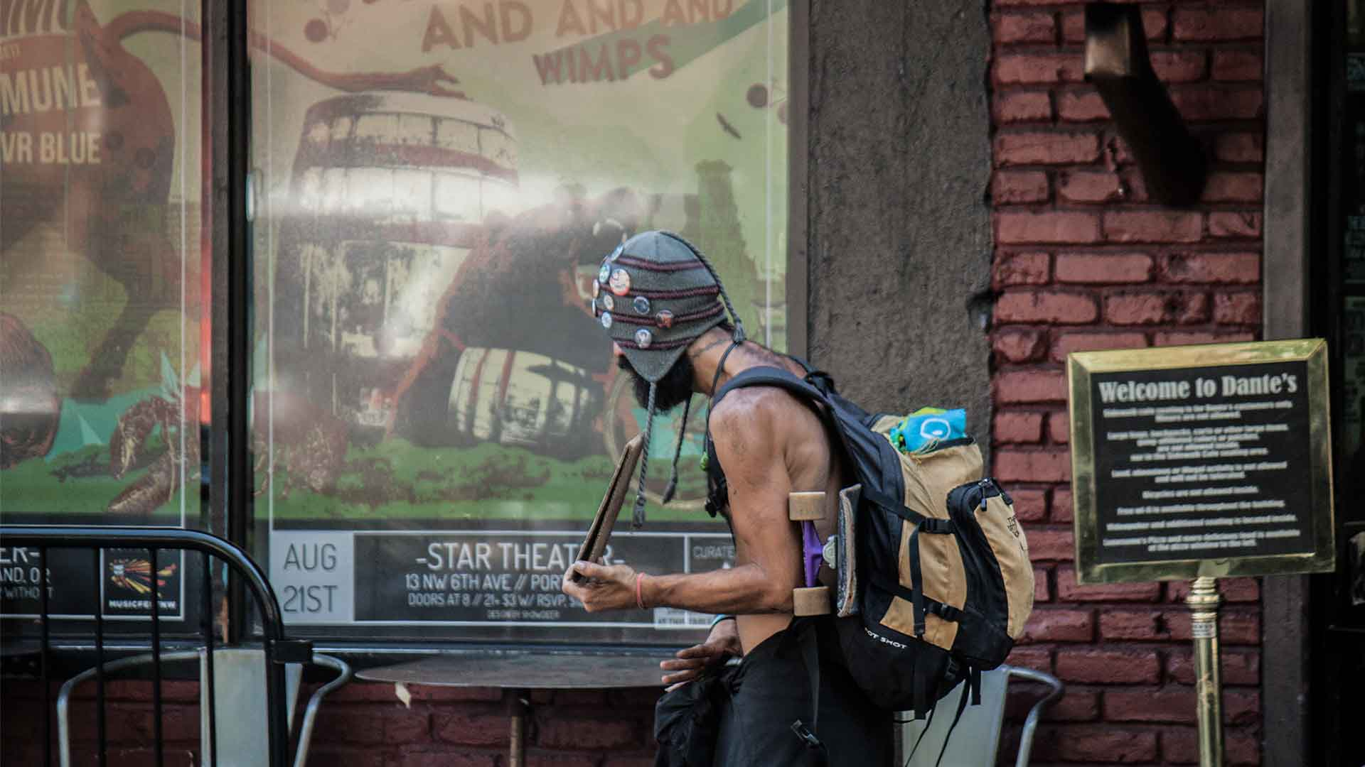 (Zu) viele Obdachlose