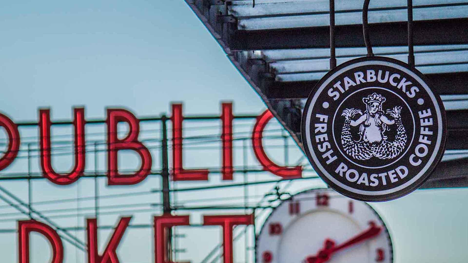 Die Heimat von Starbucks