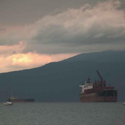 In der Vancouver Bay fühlt man sich wie am offenen Meer