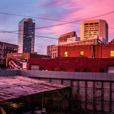 Ausblick vom Hinterhof aus unserer SF Wohnung