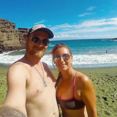 Off-Road-Ausflug zum Green Sand Beach