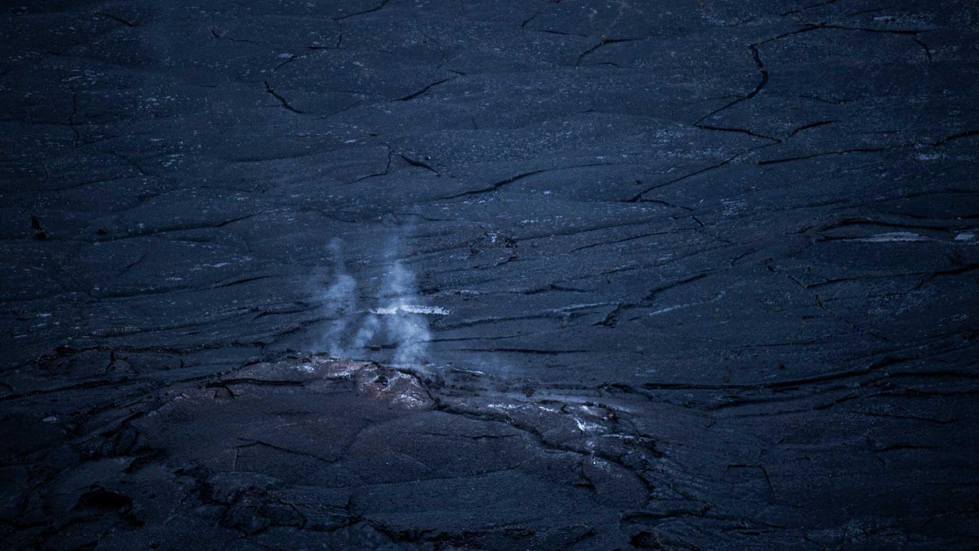 Die Erde brennt auf Hawaii