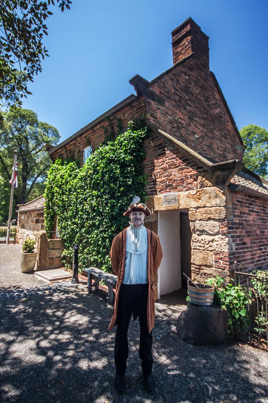 Im James Cook Cottage erfährt man alles über die Abenteuer des Seefahrer und Entdecker