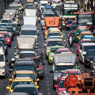 Typischer Tag in Bangkok