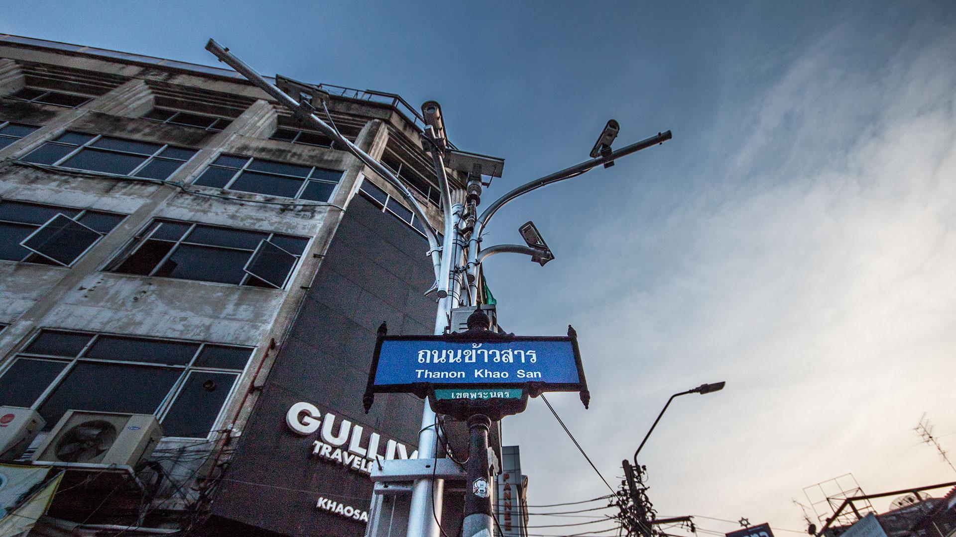 Überwachung an der Khao San Road