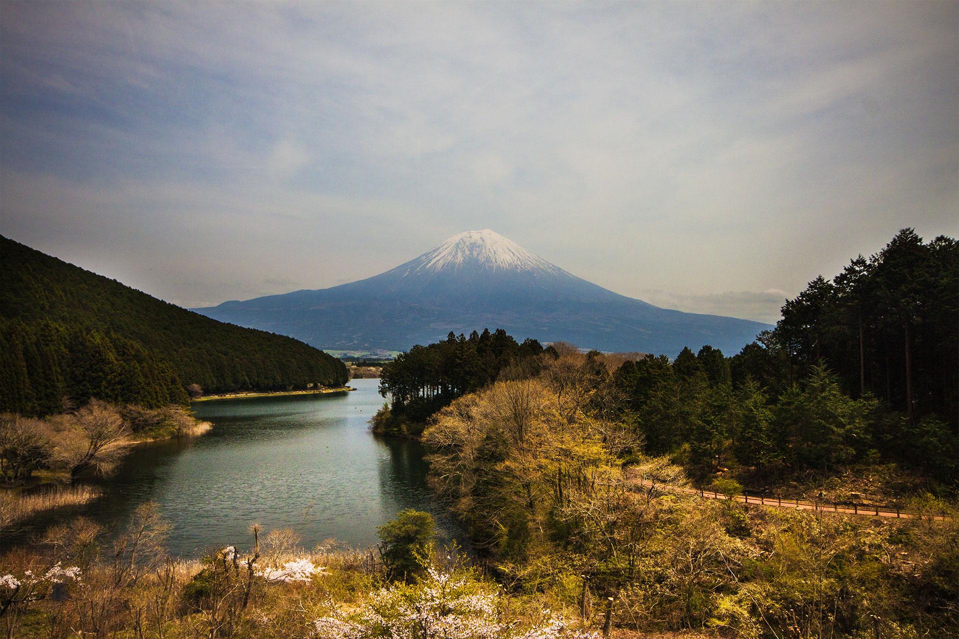 Fuji mit See