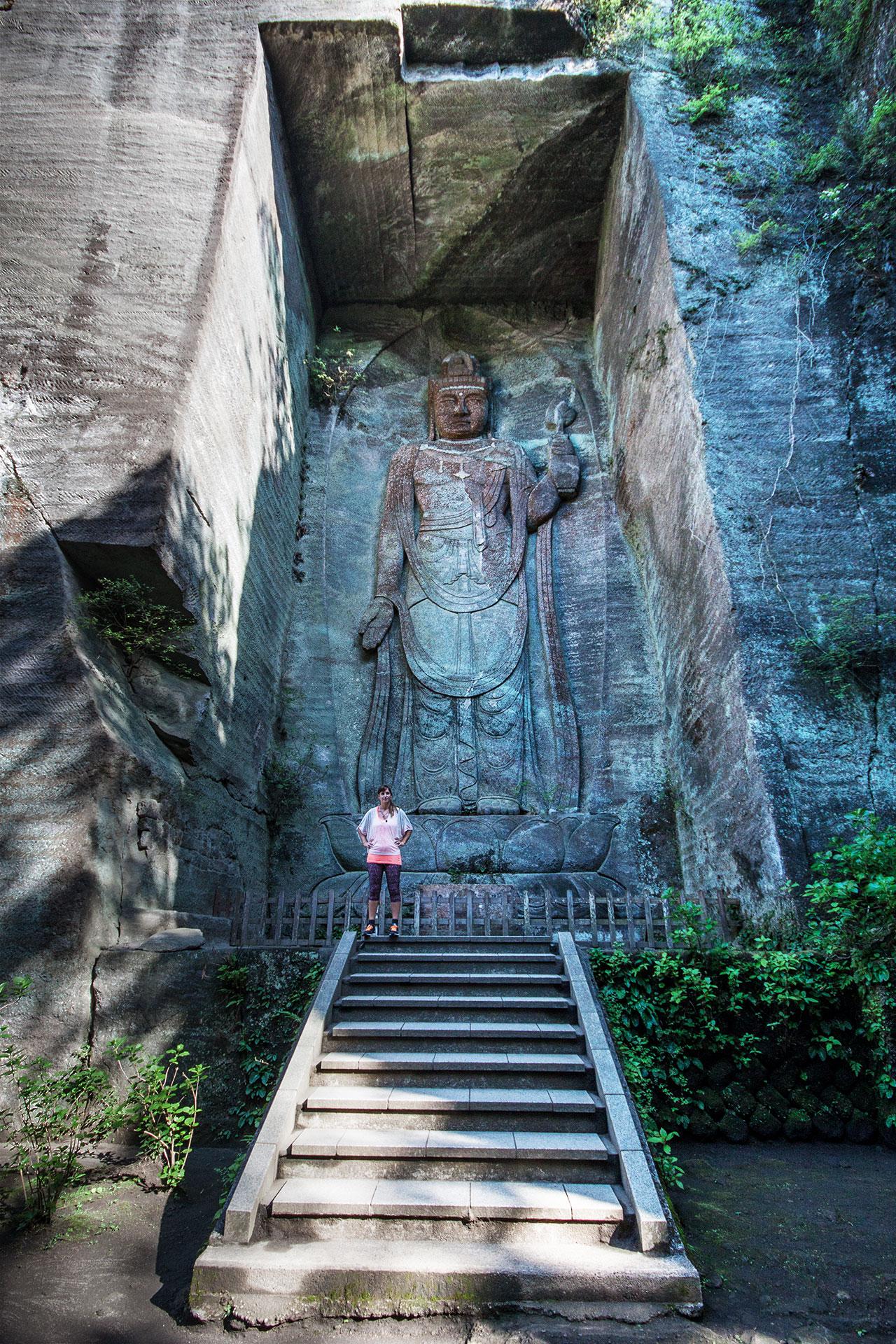 Große Wächter am Eingang des Mount Nokogiri