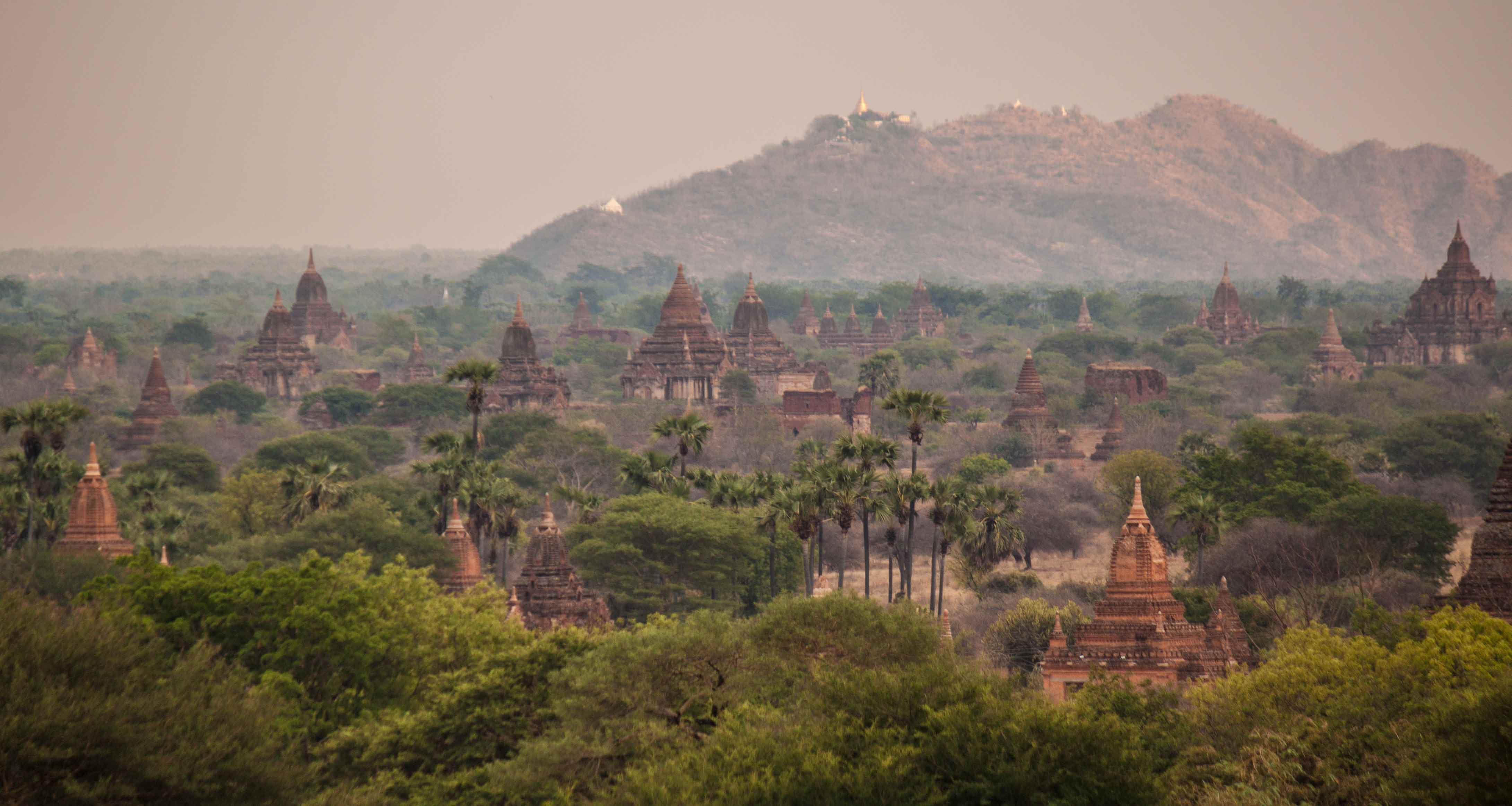 Man kann einfach nicht genug bekommen von dem überwältigenden Anblick Bagans